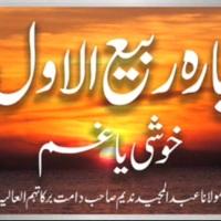 12 Rabi ul Awwal Khoshi Ya Gham Bayan by Maulana Abdul Majeed Nadeem Shah Saheb